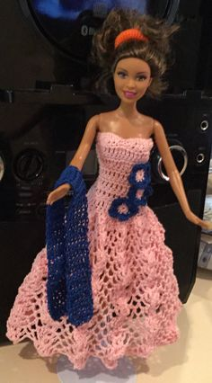 Crochet for Barbie.