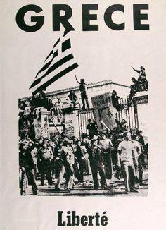 Ελλάδα (ΚΤ) Go Greek, Greek Art, Greek Life, Political Advertising, Ancient Names, Greek History, Past Life, Poster On, Vintage Photos