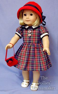 American Girl Doll ~ Kit by the Dollies' Dressmaker