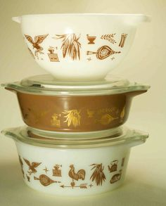 Pyrex Collection Wedding shower gifts for us