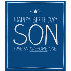 Happy Birthday Son 8