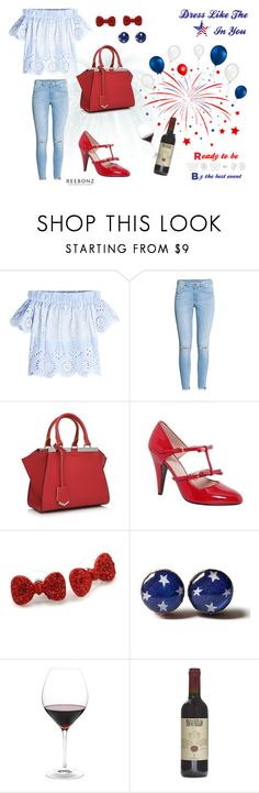 """Celebrating Independence Day as A Nation of Style"" by reebonz ❤ liked on Polyvore featuring Sea, New York, H&M and Nordstrom"
