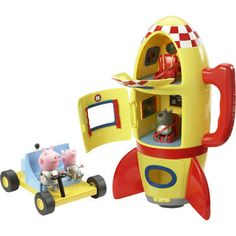 Peppa Pig Spaceship Explorer Set - set off into space with George!