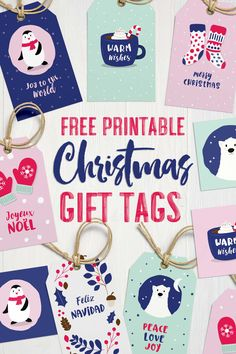 Free Adorable Printable Christmas Gift Tags {North Pole Inspired}