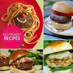 Kid-Friendly Burger Recipes