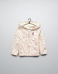 polka dot and appliqué jacket - Coats - Baby girl (3-36 months) - Kids - ZARA United States