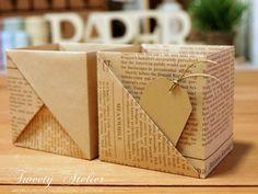 종이접기/상자접기~A4한장으로 속 깊은 상자접기(두번째) : 네이버 블로그