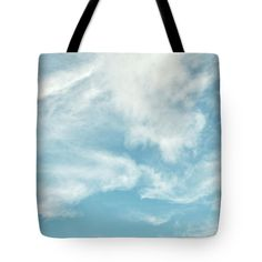 Sky Tote Bag featuring the photograph Cloud 02. by Nhi Ho Thi Xuan
