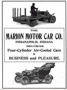 1905 Marion Automobile Advertisement
