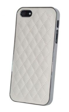 Quilted iPhone 5 Case - White