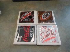 How to Make Pop Can Coasters (use beer cans)