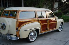 '49 Plymouth  Special Deluxe Woodie