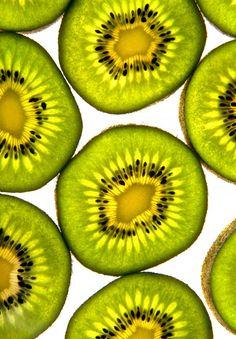 Kiwi Fruit close up shot, vitamin city!