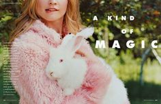 """""""A Kind of Magic"""": Behati Prinsloo is Sweet and Whimsical by Matt Jones for Elle Italy October 2013"""