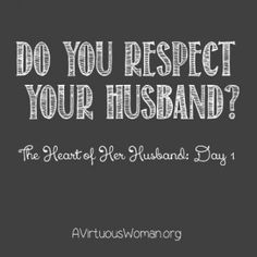 The Heart of Her Husband: Day 1