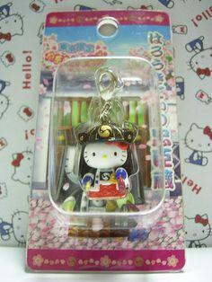 GOTOCHI HELLO KITTY Samurai Charm Mascot Figure Sengakuji TOKYO Japan NEW 2005 *SOLD OUT!*