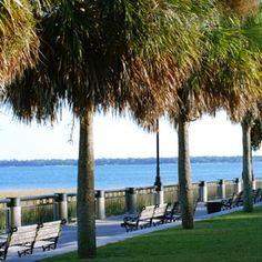 Charleston Battery - my great grandmother sleep here after the earthquake of 1886 (as did many others)