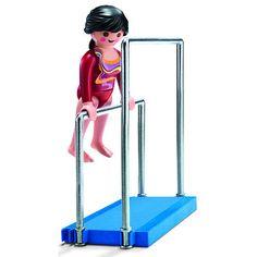 Playmobil Gymnast on Parallel Bars - Playmobil