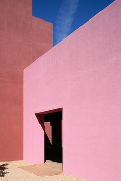 Keeping Up With Karla Rethink Pink is part of architecture - Karla Martinez de Salas on the pink clothing and accessories she's loving Fall City, Colour Architecture, Minimal Photography, Abstract Photography, Pink Walls, Pink Outfits, Colour Schemes, Color Palettes, Color Inspiration