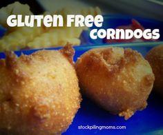 Gluten Free Corndogs