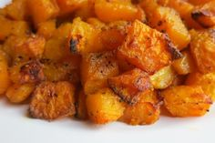 Indian Roasted Butternut Squash - easy to make and super tasty.