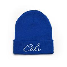 343072a8f19 Custom Beanie with word CALI Embroidered Beanie Hat Beanie Hats
