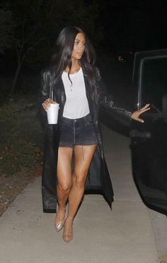 July 6th, 2017 - Kim out in LA