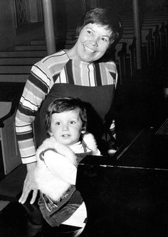 young liberace and his grandmother by reidspice, via Flickr