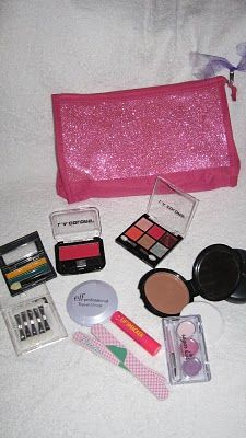 make your won play make up from dollar store stuff