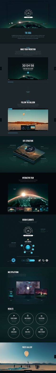UI design- 3D layers of text with images as sub layer.:
