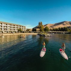 Check out Campbell's Lake Chelan's Waterfront Resort on the 2015 Best Northwest Escapes