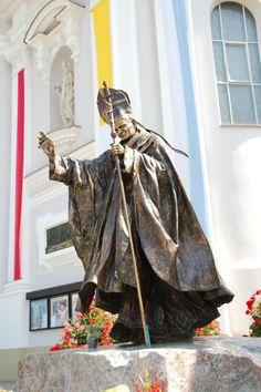 John Paul II, Bazylika Mniejska (Basilica of St. Mary), Wadowice, Poland