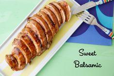 Sweet Balsamic Glazed Chicken from Weelicious.com