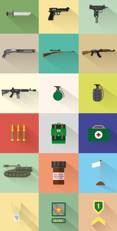 WAR Free Icon Set, #Flat, #Free, #Graphic #Design, #Icon, #Outline, #PDF, #Resource, #Vector, #Vintage, #War, #Weapons, #Long_Shadow