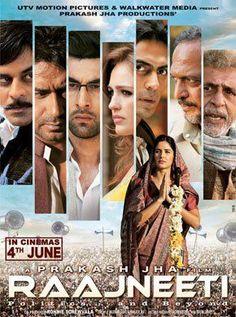 Raajneeti (2010) Hindi Movie Online in Ultra HD - Einthusan Nana Patekar, Ajay Devgan, Arjun Rampal, Ranbir Kapoor, Katrina Kaif, Manoj Bajpayee and Darshan Jariwala. Directed by Prakash Jha. Music by Pritam. 2010 [UA] BLURAY ULTRA HD ENGLISH SUBTITLE