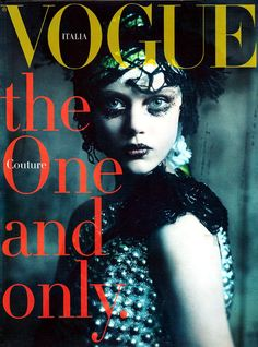 Vogue Italia Couture Supplement, September 2011 #cover | The One and Only by Paolo Roversi