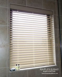 Blinds For Bathroom Window In Shower. What To Do In Showers Baths Faux Wood Blinds Are The Perfect Solution For Windows Directly In Showers Or Over Bath Tubs As They Can Withstand Humidity