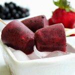 Ice block wild berry
