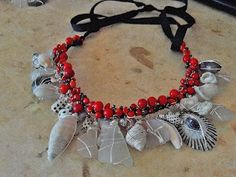 Coral, shells, and sea glass, Ohau Hawaii, $89