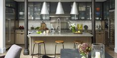 kitchen cabinets pictures industrial lofts turned into homes kitchen island loft 21001