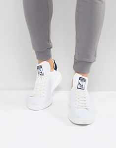 the best attitude d8eb8 8d0e0 adidas Originals Stan Smith Boost Primeknit Sneakers In White Klick to see  the Price