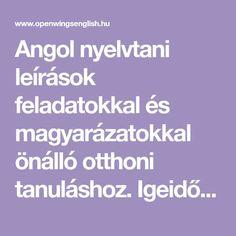 English Lessons, Learn English, English Language, Education, Learning, School, English, Learning English, English People