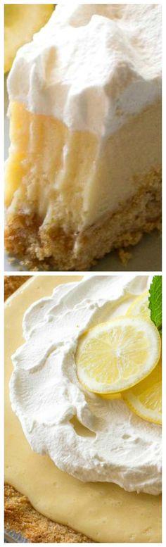 Lemon Pie ~ The famous Magnolia Lemon Pie by Joann Gaines... Light, sweet and tart lemon pie with a thick graham cracker crust.