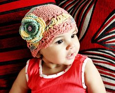 Halloween Sale 0 to 3m Newborn Baby Flapper Hat Baby by BabaMoon, $30.00