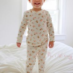 The Movie Night Pajama is a PDF sewing pattern for sizes 12 months to 12 years. These pajamas are a fitted, knit pajama loaded with options! You can choose long or short sleeve and mix and match with pants, capris, or shorts. There is also an option for a gathered sleeve. Perfect for all seasons! There is a great promo for this pattern over on the Sew a Little Seam Facebook group! Be sure to head over to get your code! The pattern includes: Layers for printing just your size Photo tutoria...