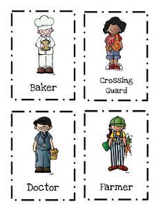 Preschool Printables: Community Helpers