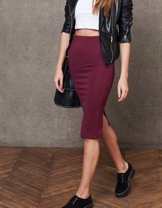 Midi tube skirt, Stradivarius 1.990 din