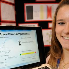 She may be only 18, but Brittany Wenger built a custom, cloud-based artificial neural network that can help with leukemia diagnosis.