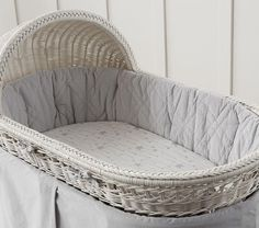 Shooting Star Organic Bassinet Fitted Sheet