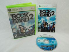 Rock Band 2 Harmonix For Microsoft Xbox 360 2008 Fully Tested